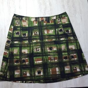 Lane Bryant A-line Plaid Skirt Size 18